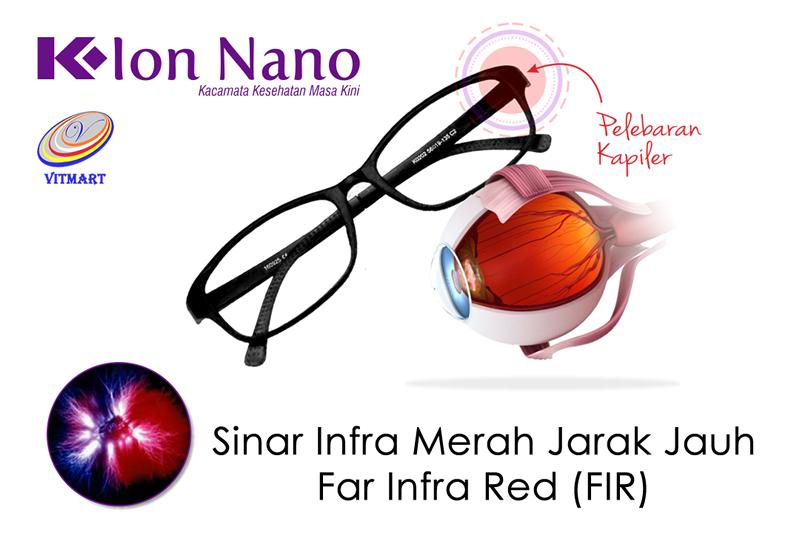 Kacamata Terapi Ion Nano FIR