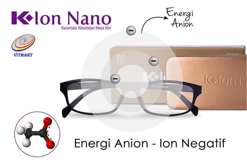 Kacamata Terapi Ion Nano Anion