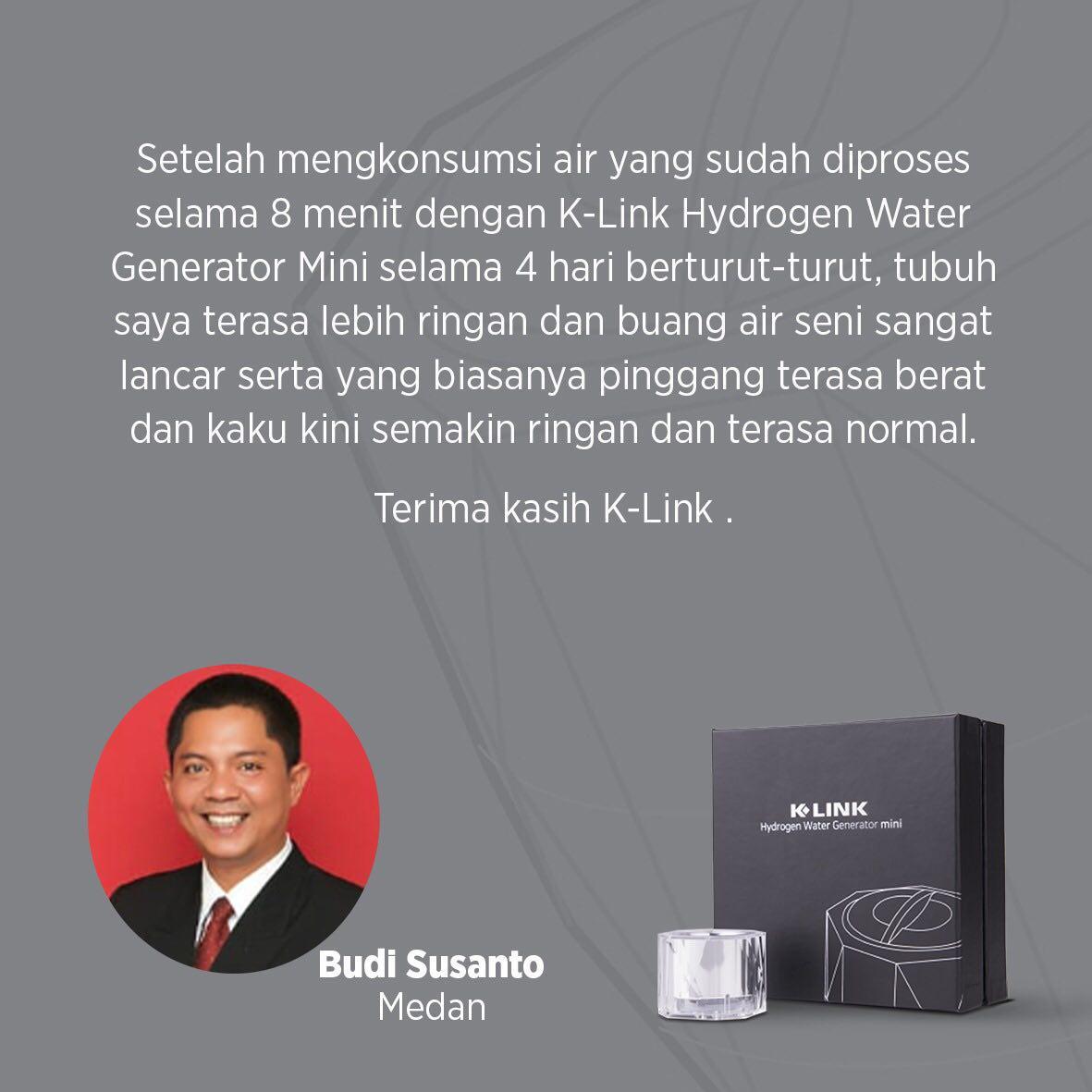 Testimony Hydrogen Water Generator mini